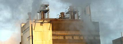 Verhuizing controlekamer chemische fabriek